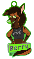 Berry Badge made by Onyx by Gear-kind