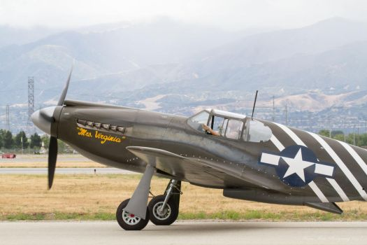 North American P-51A by IntermissionNexus