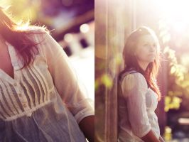 Katja in the Sun by fL0urish