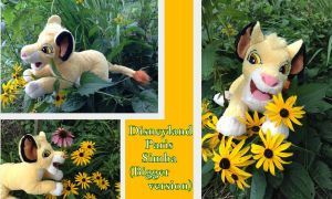 Disneyland Paris Simba (bigger version) by Laurel-Lion