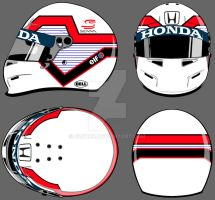 Helmet - Sao Paulo city layout (White Version) by GusBor