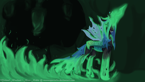 Chrysalis, Queen of the Changelings by NeonNoble