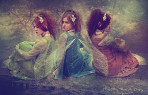 Fairy Maids all in a Row by ThreeWillows