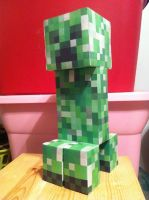 Papercraft Creeper by SirAlex0014