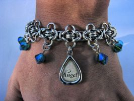 Angel Charm Bracelet by Night-Maiden