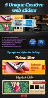5 Creative Web Sliders by SneekDigital
