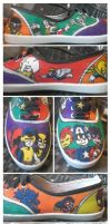 Mini Marvels Shoes 2 by glittersprite