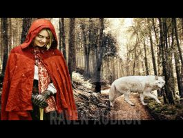 Evil Red Riding Hood by ravenaudron