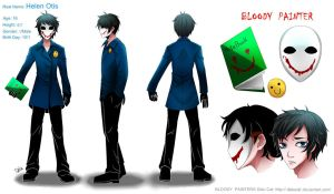 Creepypasta: Bloody Painter REF by DeluCat