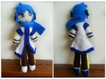 Kaito Plushie (SOLD) by CocoaSama