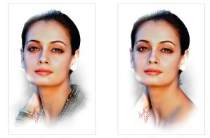 Dia Mirza x2 by kenernest63a