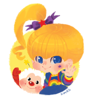 Rainbow Brite by zimra-art