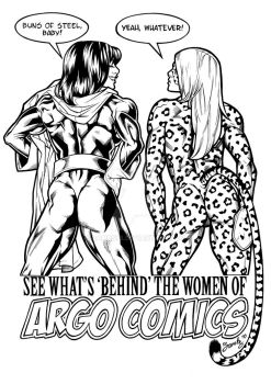 Argo Comics Poster by Bambs79