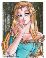 .:Princess Elvyn:. by Maga-Link
