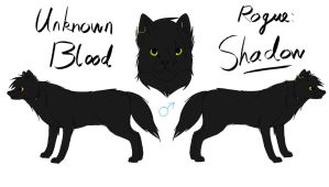 Unknown Blood - Shadow Reference by fluffylovey
