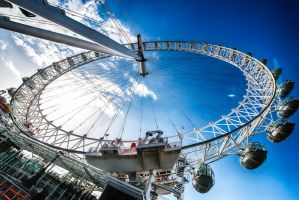 London Eye by alierturk