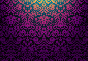 Floral Damask 2 by mia77