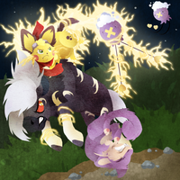 PKMNation  Double Team (May Event 2) by Daffupanda