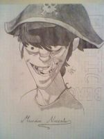 Murdoc Niccals by Wheriswaldo