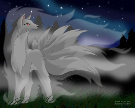 Commission - GhostCloud by linai