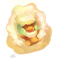 Whimsicott by LizardonEievui13