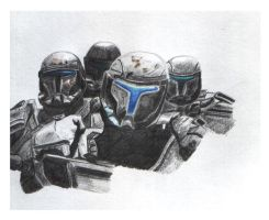 Star Wars Republic Commando by KingRaptor