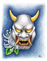 Hannya by extinctinks
