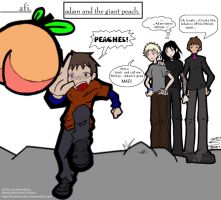 AFI - All Four With Peaches by wynterashes