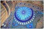 Inside view of the Blue Mosque by Ragini123