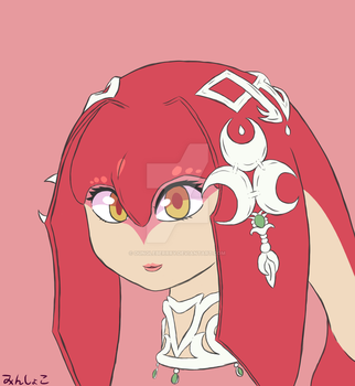 Mipha by dungleberrry