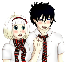 RinxShiemi-Hold the hand by Sarara-chan
