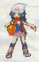 Cross Stitch Fanart- Dawn by missy-tannenbaum