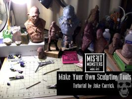 Make your own custom sculpting tools! by misfitjake