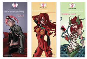 Pinkward's Posters by Red-Zephyr