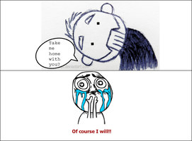 A Sid Wilson Rage Comic by Whitefeathers92