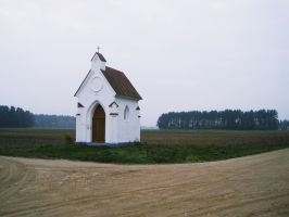 Chapel at the crossroad by notHaruhi