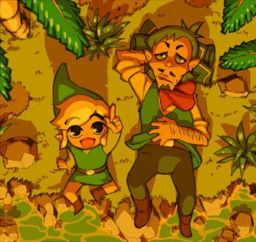 Link and Linebeck by YoshinoAkie