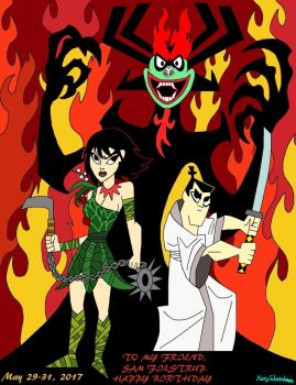 Happy birthday, Tigerhawk. Samurai Jack! by WarnerRepublic