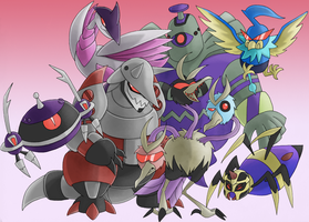 TFA - Pokecons by Rosey-Raven