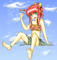 summertime by crinuyi