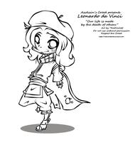 AC2 - Sweet Master Chibi LINES by RedViolett