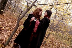 Lily Evans and James Potter by KateFromMoon