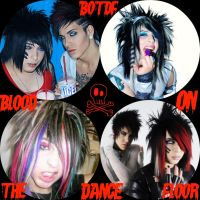 Blood on the Dance Floor by Dark-Sapphire-Lotus