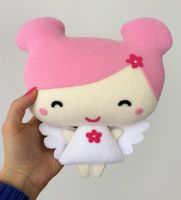 Angel plush by FizziMizzi