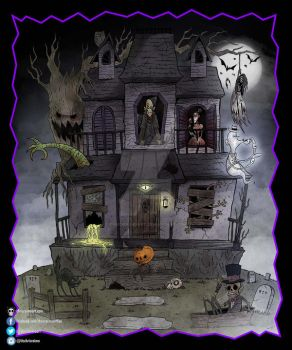 Spook House by chrisraimoart