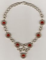 Carnelian Necklace by DonaIvanova