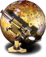 Steampunk Planetary Search Icon MkII by yereverluvinuncleber