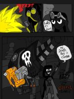 izzy and the monster trio first page by HINCAPIE319