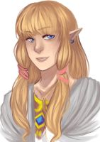 Princess Zelda by acqua-alta