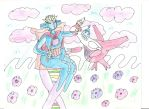 King Deoxys and Princess Latias by 1Missy